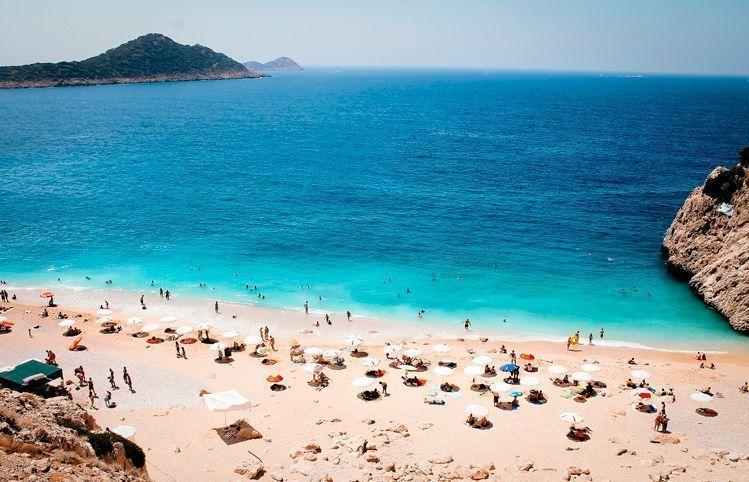 vista de las Playas de Antalya - Imagen de sulox32 en Pixabay